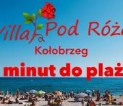 Kwatery prywatne Villa Pod Różą Kołobrzeg