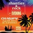 Wieczór z muzyką szanty i rock w Chałupach