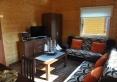 pokój dzienny w domku